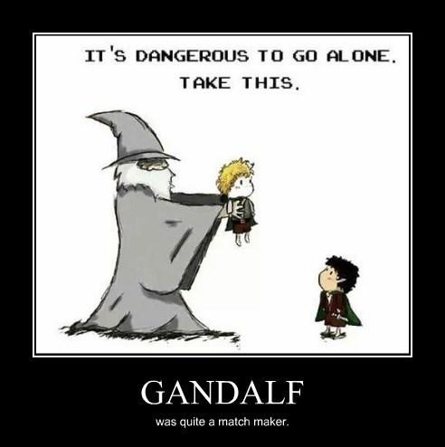 wtf gandalf fan fiction funny hobbit - 8295211264