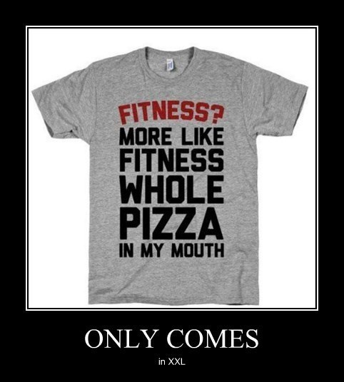 fat pizza murica fitness funny - 8295214336