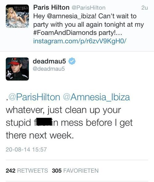 Deadmau5,paris hilton,failbook,burn