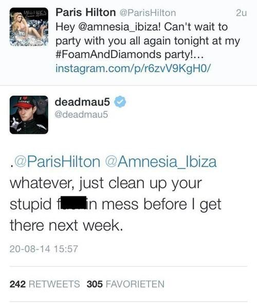 Deadmau5 paris hilton failbook burn - 8295270912