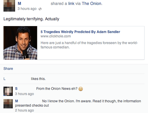 the onion,satire,adam sandler
