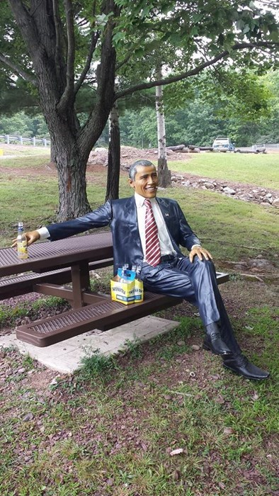 beer statue barack obama funny after 12 g rated - 8295404544