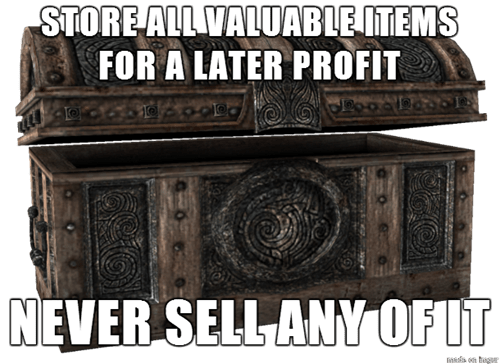 First World Problems Skyrim - 8295482880