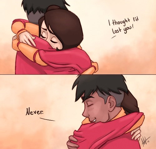 Fan Art,feels,jinora,kai,Avatar,legend of korra