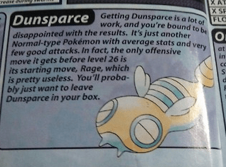 dunsparce crystal guidebook - 8295871744
