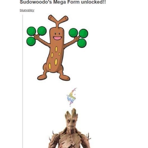 sudowoodo,mega evolution