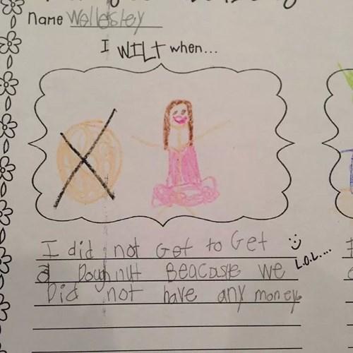 homework donuts funny parents children - 8295906560