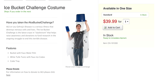 costume,poorly dressed,ice bucket challenge