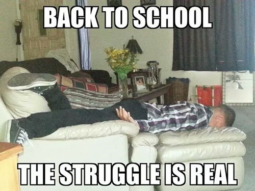 back to school the struggle is real funny g rated School of FAIL - 8295913984