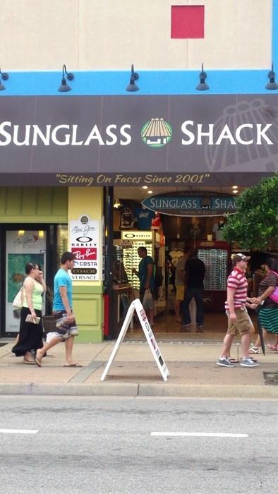 monday thru friday sign sunglasses slogan - 8295934208
