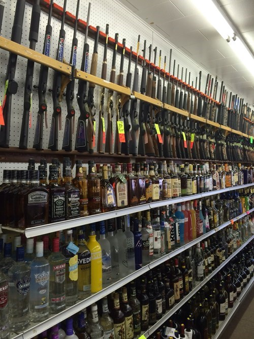 guns,alcohol