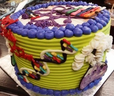 cake awesome science DNA - 8295965696