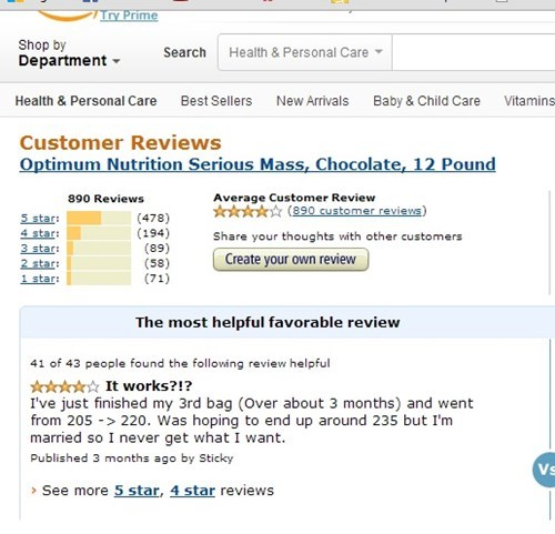 body builder marriage amazon wtf review funny