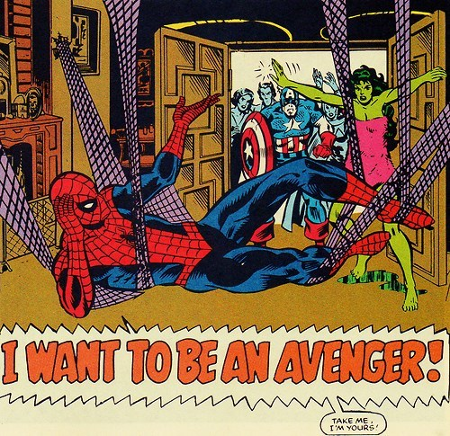 Straight off the Page Spider-Man avengers - 8296041728