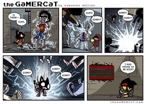 the gamer cat web comics - 8296177920