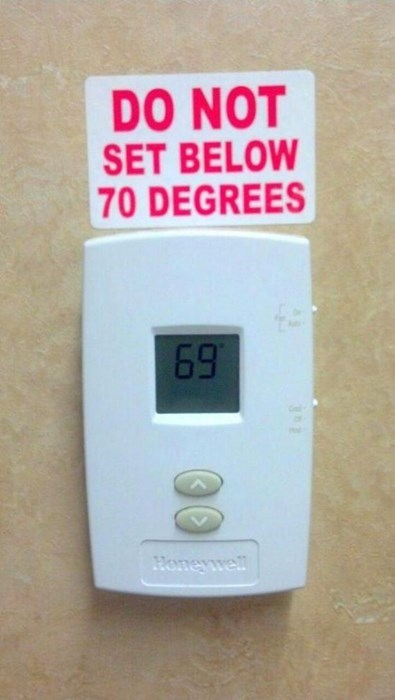 temperature,no rules