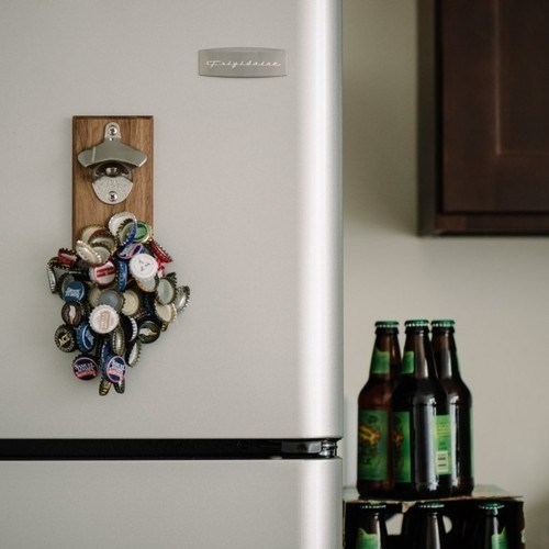 beer bottlecap magnets funny - 8296201216