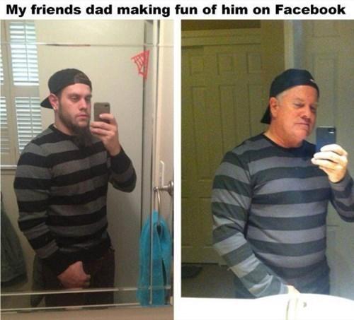 dads parenting selfie - 8296208640