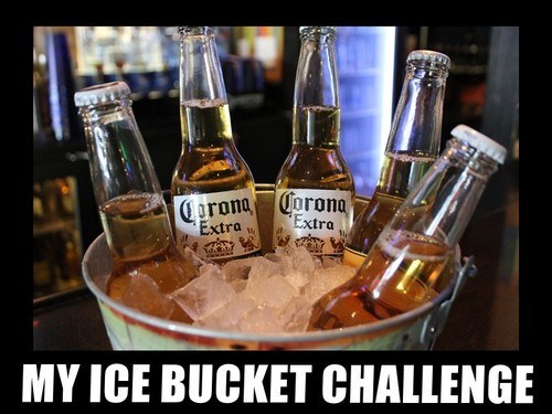 beer Challenge Accepted ice bucket challenge funny - 8296210176