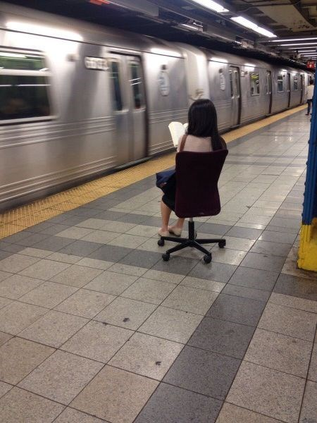 monday thru friday,office chair,Subway