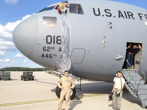 military soldiers ice bucket challenge air force - 8296254720