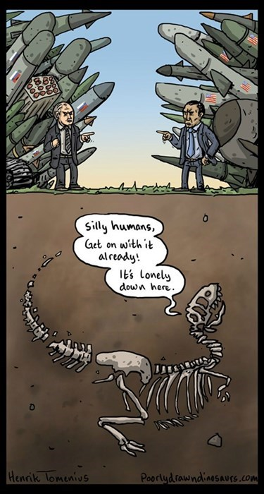 bombs war comics fossil fuel webcomics dinosaurs web comics - 8296257024