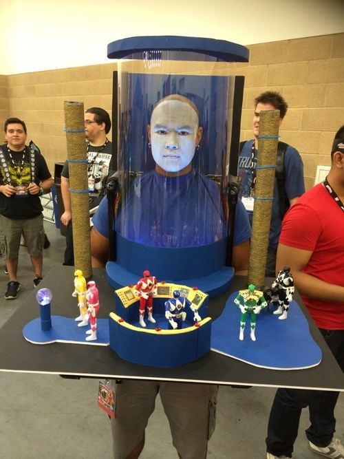 power rangers cosplay Zordon - 8297206528