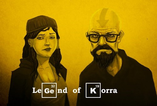 breaking bad Fan Art Avatar korra - 8297433600