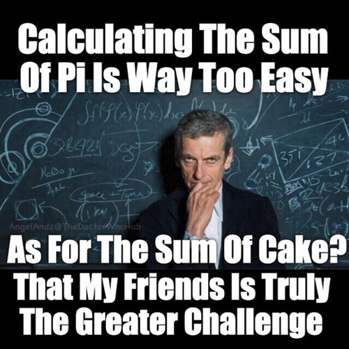 puns,12th Doctor,math