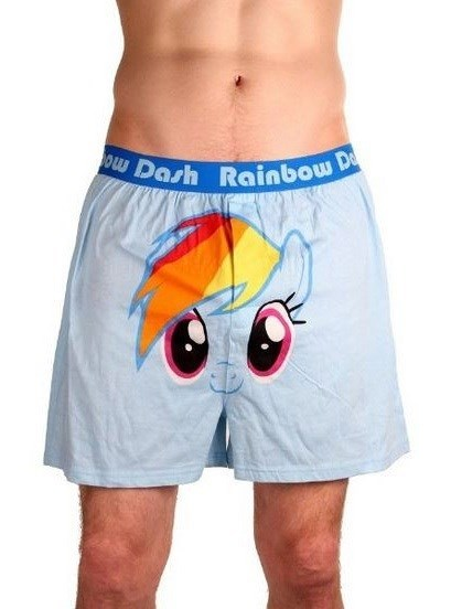 wingboner boxers rainbow dash - 8297956608