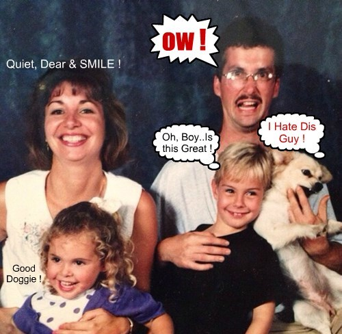 dogs cute family photo funny - 8298004480