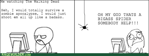 spider,The Walking Dead