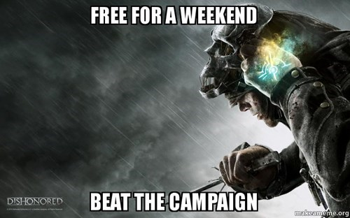 free games steam dishonored - 8298069760