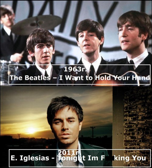 the Beatles,Music,enrique iglesias,romance,funny