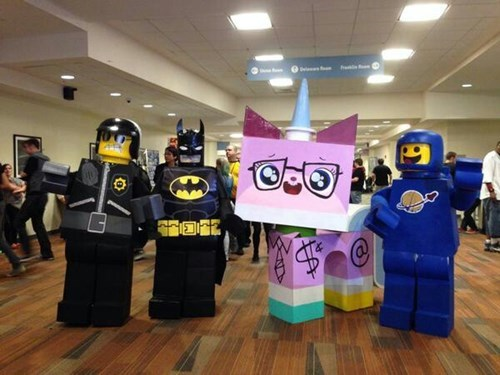 lego movie cosplay - 8298271744