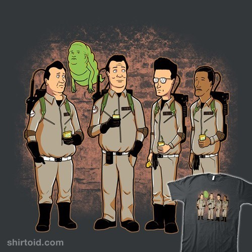 tshirts,Ghostbusters,King of the hill