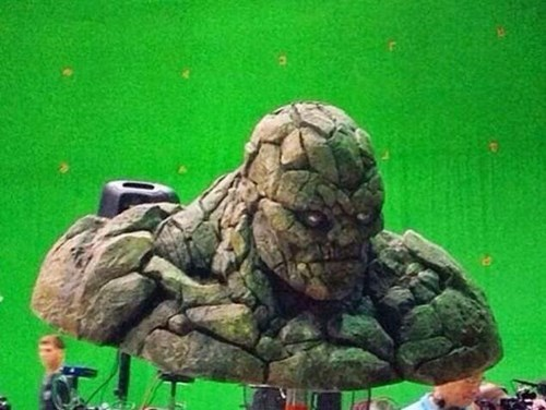 behind the scenes Fantastic Four The Thing - 8298283520