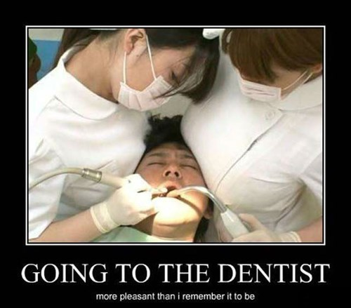Sexy Ladies wtf dentist funny - 8298295808