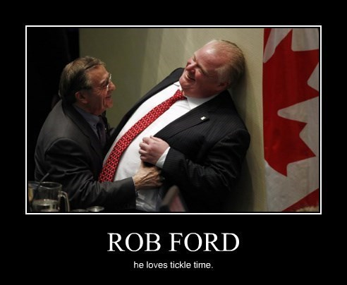 tickle time rob ford funny - 8298835968