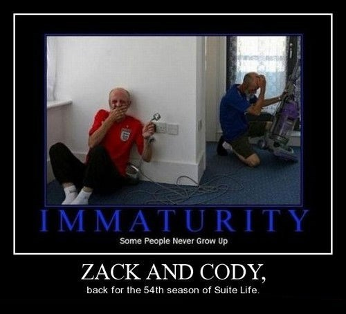 zack and cody,TV,old men,funny