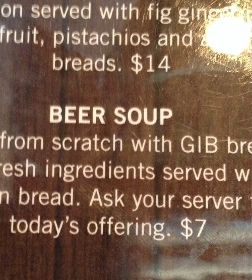 beer pub soup funny - 8298897664