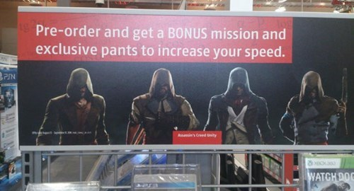 pre order bonuses,facepalm,assassins creed