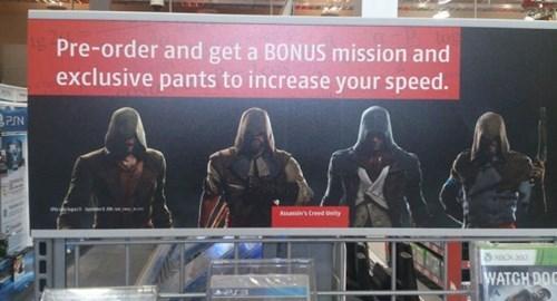 pre order bonuses facepalm assassins creed - 8298967296