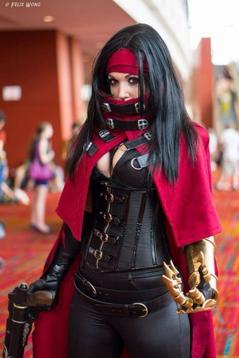 cosplay,vincent valentine,ladies,final fantasy VII