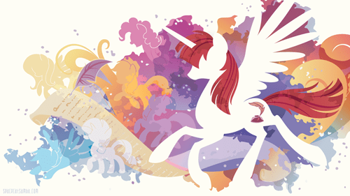 lauren faust Fan Art alicorn homage - 8299005696