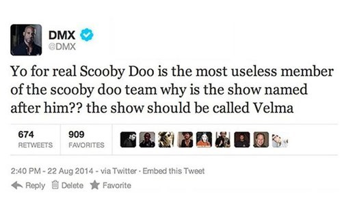 scooby doo,dmx,true facts,failbook,g rated