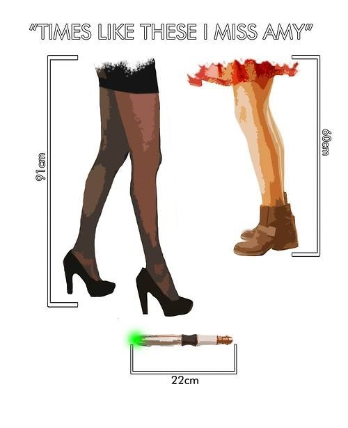 clara oswin oswald 12th Doctor amy pond legs - 8299125504