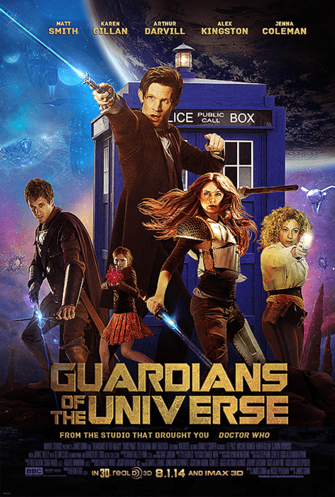guardians of the galaxy 11th Doctor - 8299150848