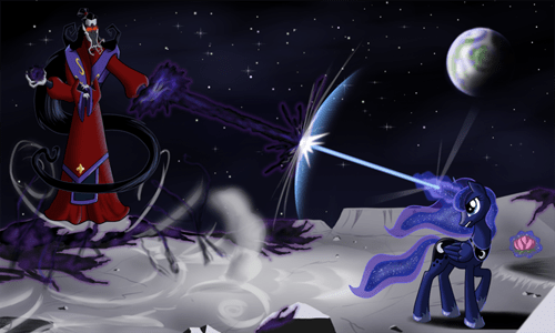 crossover,Fan Art,sailor moon,princess luna