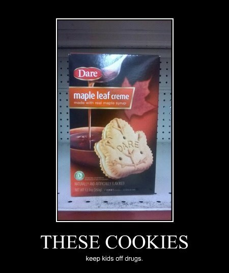 drugs dare funny cookies - 8299843584